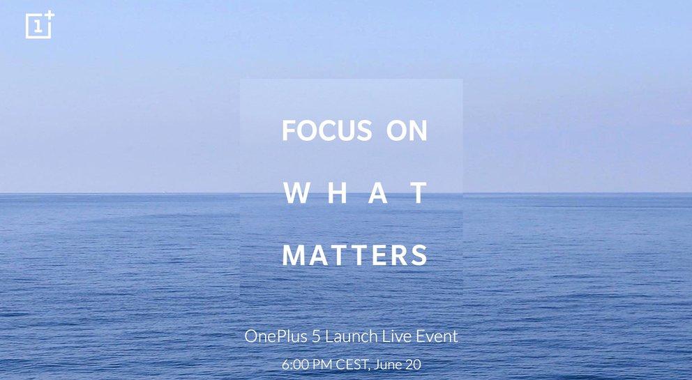 OnePlus 5: Neue Bilder und Release am 20. Juni