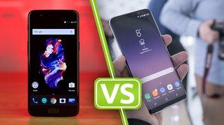 OnePlus 5 vs. Samsung Galaxy S8: Knallhartes Duell der Spitzenreiter