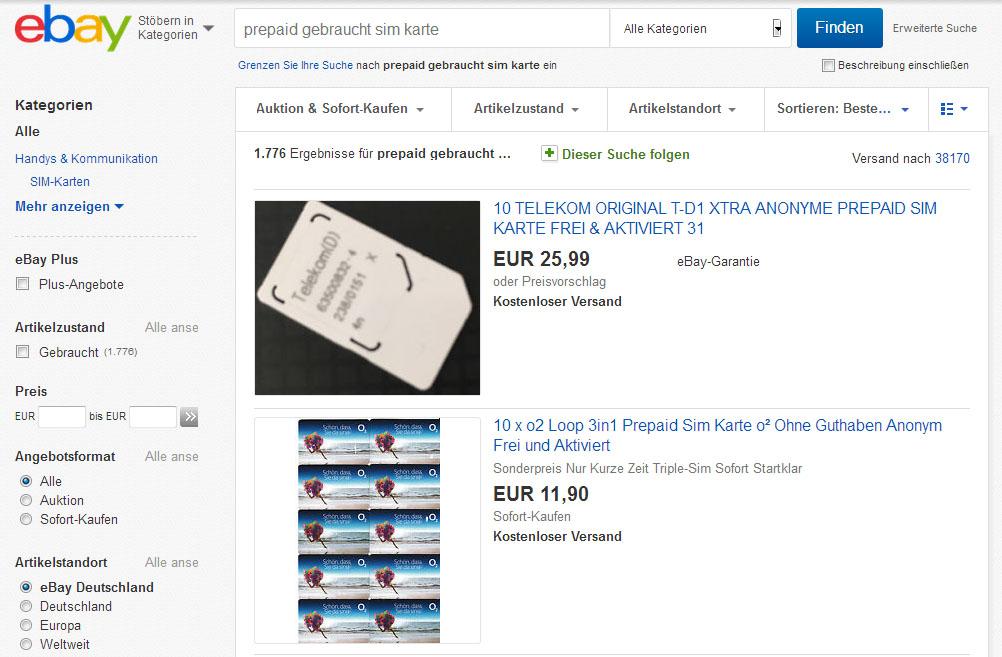 prepaid karte aktivieren ohne ausweis Prepaid Karte ohne Ausweis anonym kaufen – so gehts