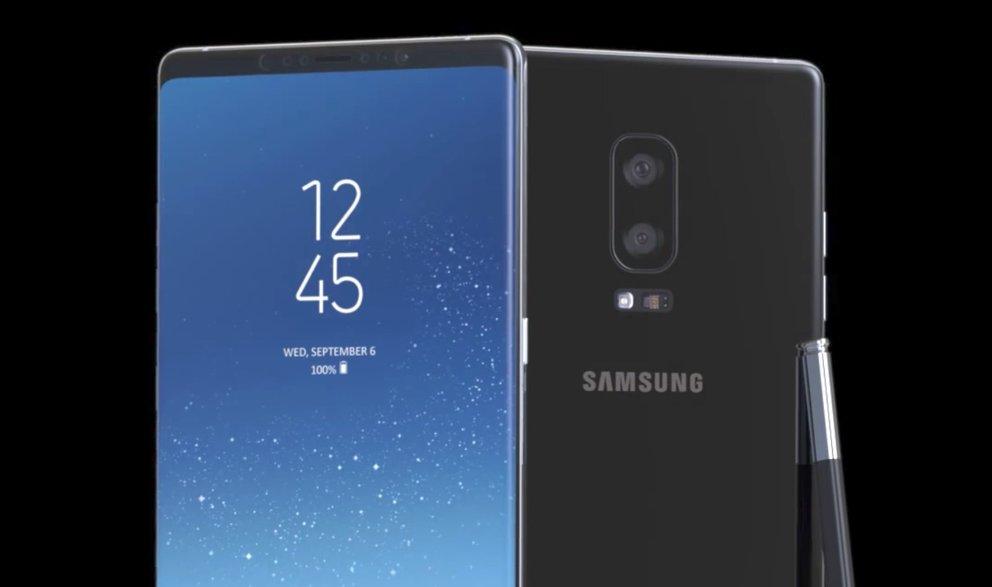 Display-Prototyp aufgetaucht: Das Galaxy Note 8 wird ein gestrecktes Galaxy S8