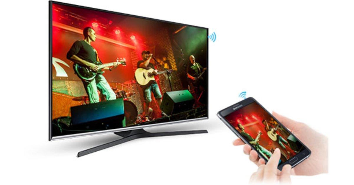 Screen Mirroring am Samsung TV – so geht's
