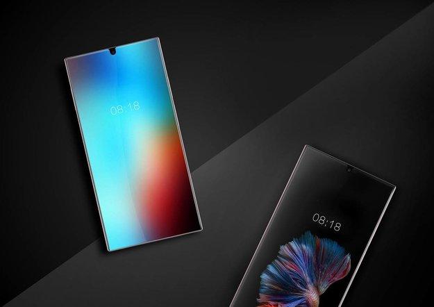 Randlose Smartphones: Sharp zeigt der Konkurrenz, wie es richtig geht