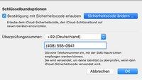 iCloud: Sicherheitscode vergessen – so könnt ihr ihn ändern