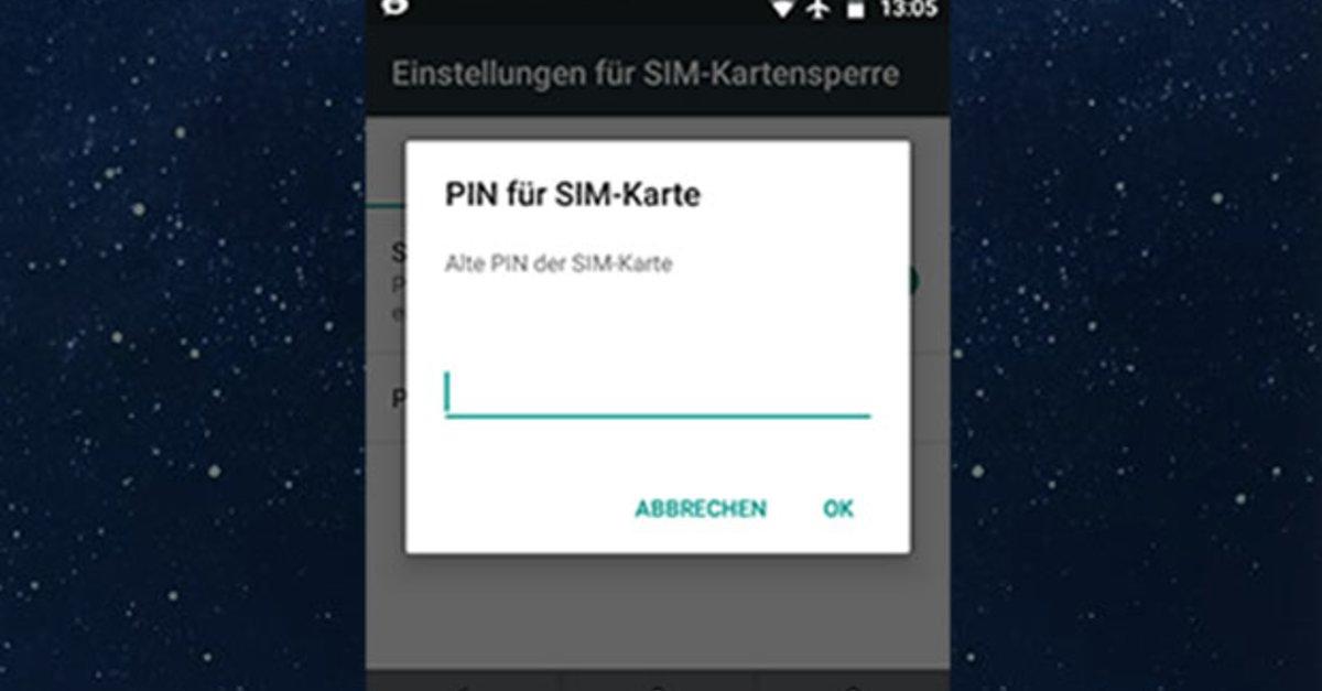 Pin Der Sim Karte ändern.Samsung Pin ändern Galaxy S8 S7 S6 S5