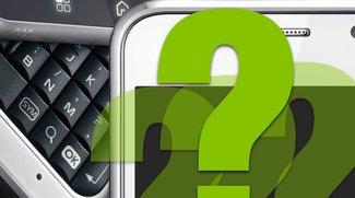 Für Rätselfreunde: Was für Smartphones verstecken sich hier?
