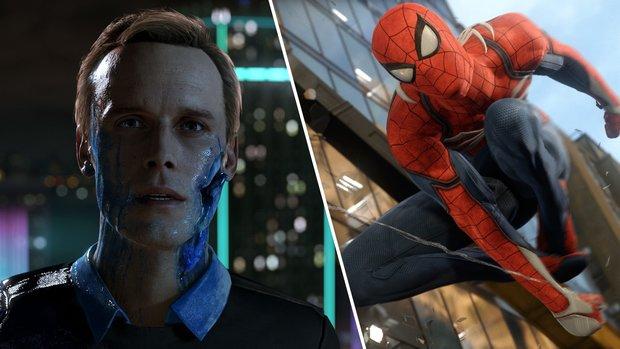 Detroid - Become Human & Spider-Man: PS4-Spiele sollen in der 1. Hälfte des Jahres 2018 kommen