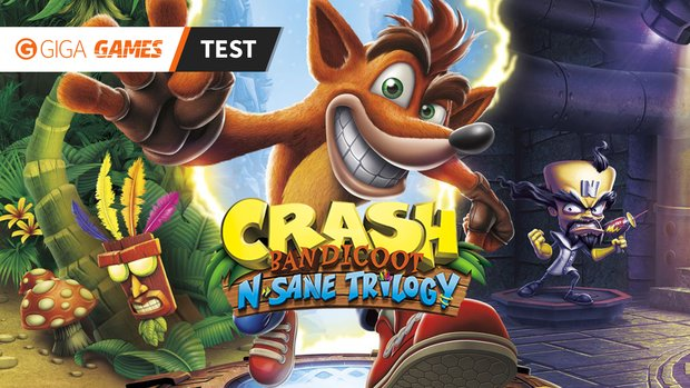 Crash Bandicoot N. Sane Trilogy im Test: Zeitreise mit Originaltreue