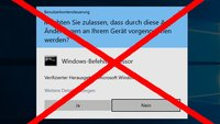 Windows 10: UAC deaktivieren – so geht's