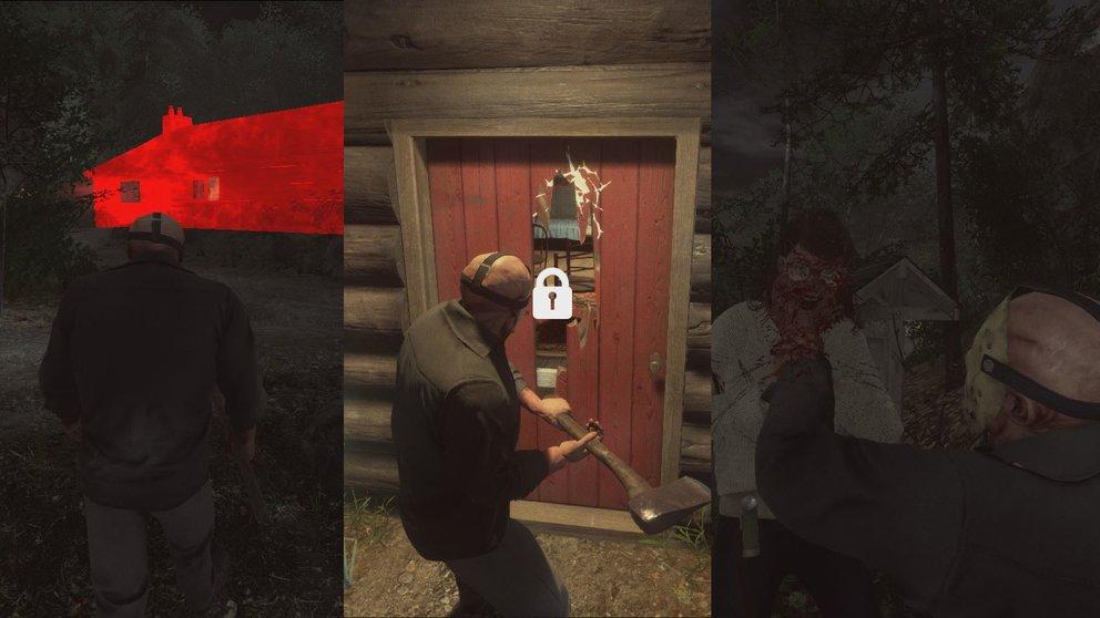 Jason hingegen nutzt seine Fertigkeiten, um die potentiellen Opfer zu finden.