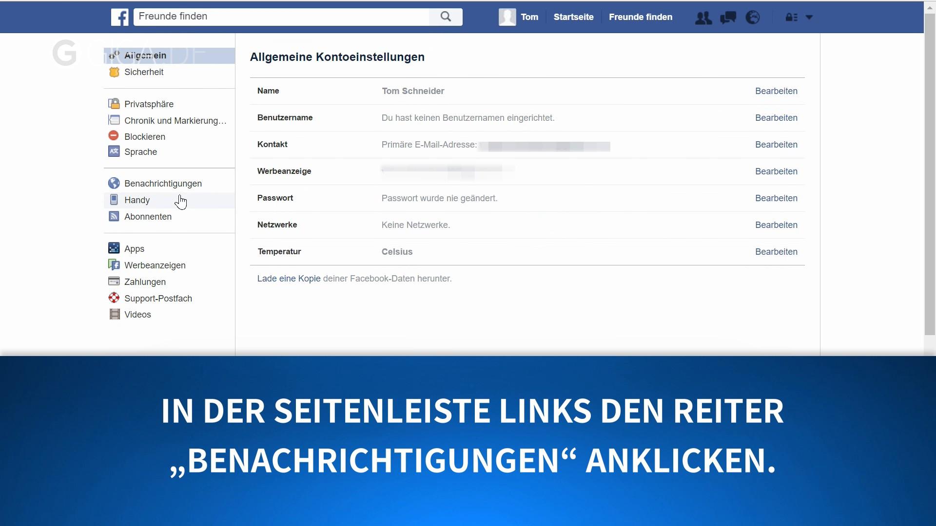 Facebook geburtstage anzeigen
