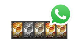 WhatsApp: Filter auf Fotos & Videos anwenden