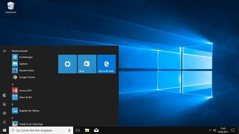 Windows 10 Enterprise bietet bessere Verwaltungsoptionen für das Unternehmensnetzwerk.