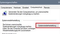 Windows 10: Systemwiederherstellung durchführen – so geht's
