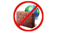 Windows 10: Firewall deaktivieren & Ausnahmen hinzufügen – so geht's