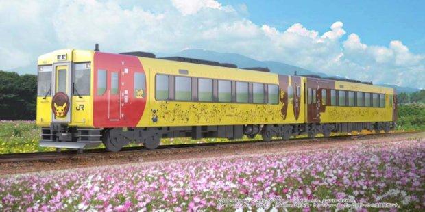 Pokémon: Mit dem Pikachu-Zug durch Japan