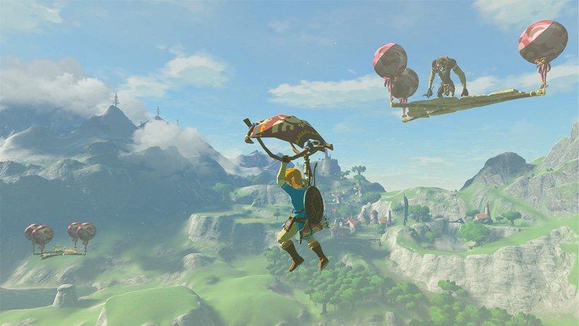Der Master-Modus bringt euch stärkere Gegner, die jetzt sogar fliegen können - mit Hilfe von Plattformen.