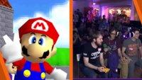Super Mario 64: 70 Spieler wagen sich zusammen an einen Speedrun