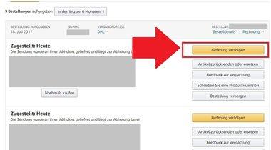 amazon erkennt adresse nicht deutschland