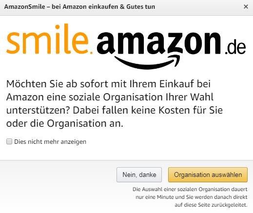 Solche Meldungen zeigt Amazon seinen Kunden beim Shoppen. Bild: GIGA