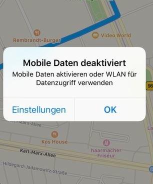 Apple Karten offline