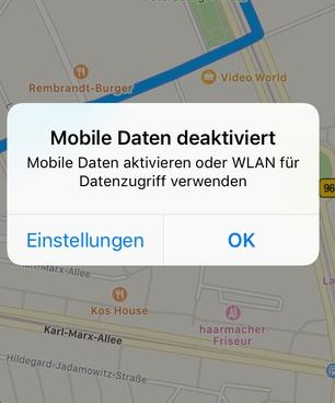 Apple-Karten offline auf dem iPhone nutzen – so geht's on