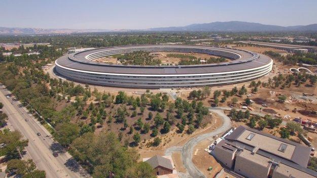 Apple Park: Drohnenvideo zeigt Fortschritte in Cupertino