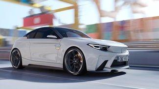 Tesla aufgepasst: Der BMW iM2 steht voll unter Strom