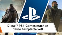 Diese 7 PS4-Games machen deine Festplatte voll