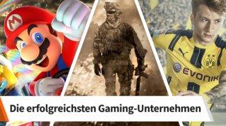 Das sind die Top-10 erfolgreichsten Gaming-Konzerne