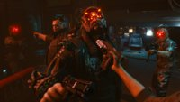 Waffen-Gameplay in Cyberpunk 2077: Schießen, stechen und Wände hochklettern