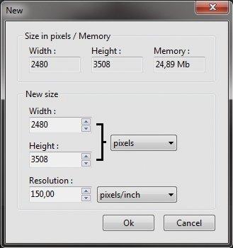DIN A2 Maße Auflösung Pixeldichte