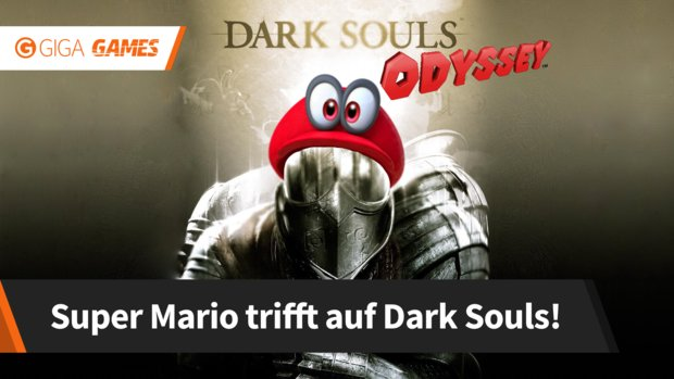 Dark Souls Odyssey: Wenn Super Mario auf das schwerste Spiel der Welt trifft