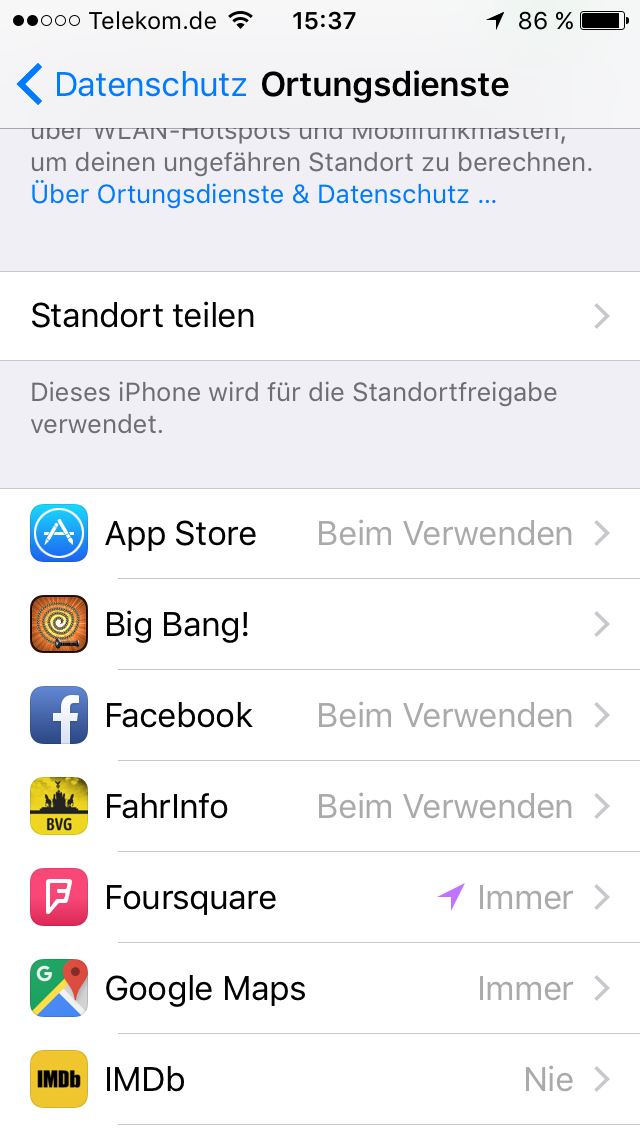 Ortungsdienste am iPhone oder iPad deaktivieren – das müssen Sie tun