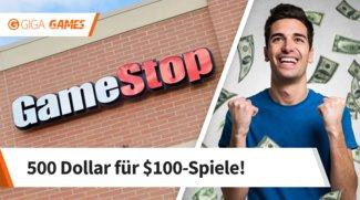 GameStop: So verdiente ein Gamer fast 500 Dollar durch den Verkauf seiner Spiele