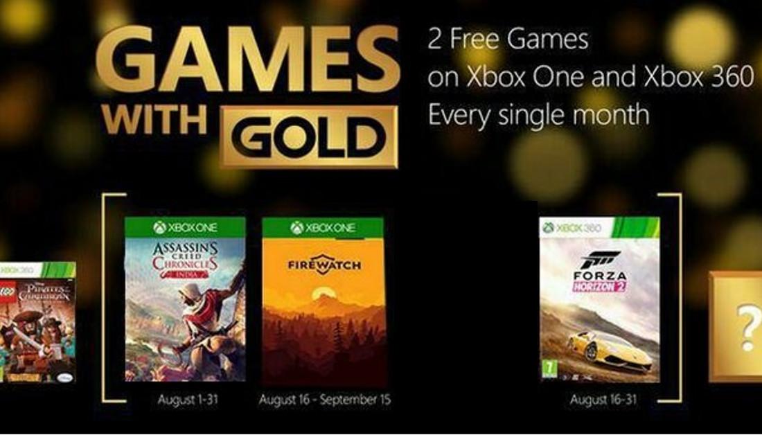 Games with Gold - Sind das die August-Titel?