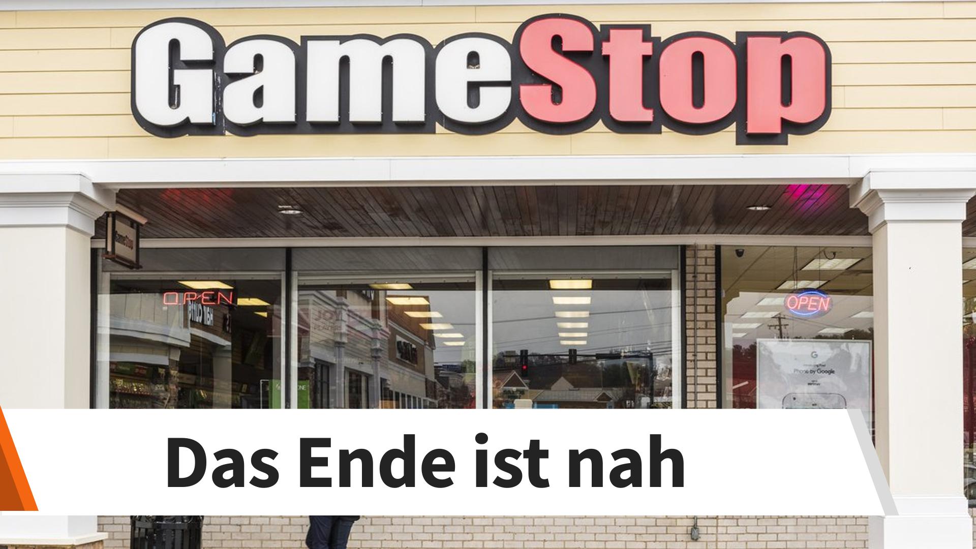 GameStop Deshalb Sind Die Tage Des Einzelhandels Gezahlt