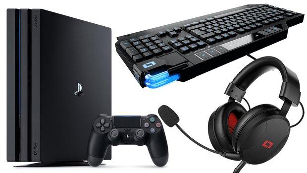 Bis zu 54 % Rabatt auf Gaming-Artikel: Lioncast-Headsets & -Tastaturen, PS4 Pro 1 TB, Fifa 18 u.v.m. – nur am 03.07.
