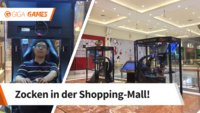 In dieser Shopping-Mall gibt es jetzt Spielkabinen für gelangweilte Ehemänner