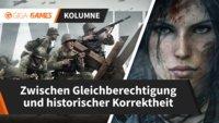 Frauen in Videospielen: Zwischen Gleichberechtigung und historischer Korrektheit