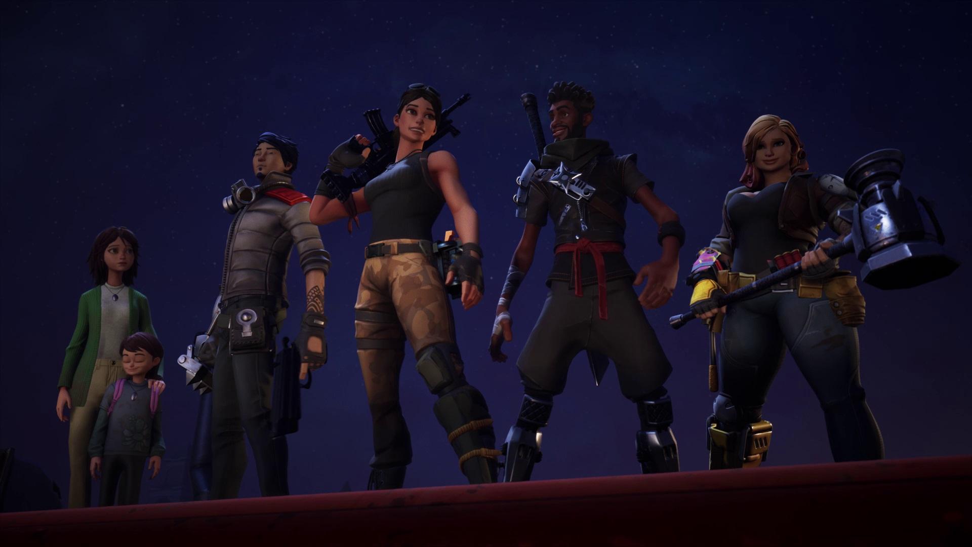findet die passende helden klassen fur euch - fortnite rette die welt ninja skins