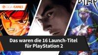 Das waren die 16 Launch-Titel für PlayStation 2