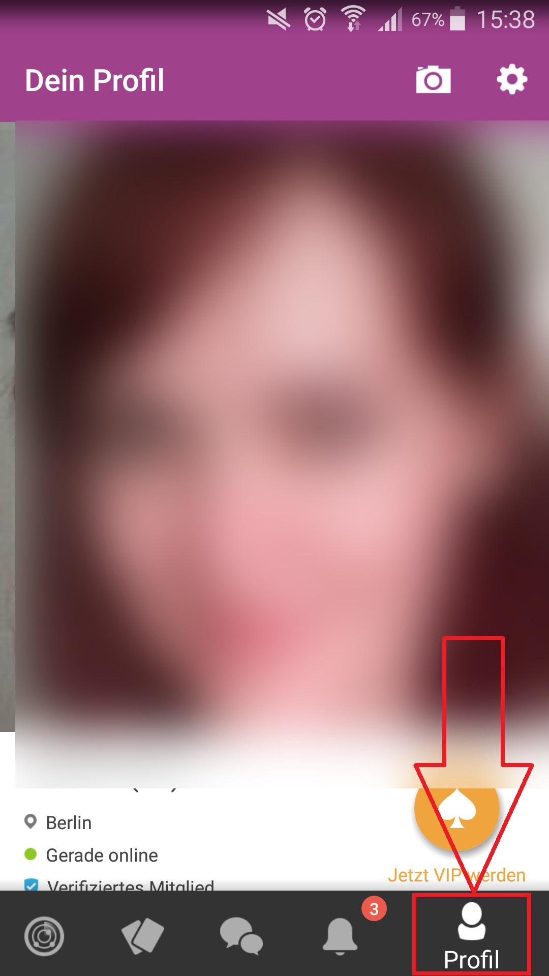 wie man ein gutes Profilbild für Leute macht