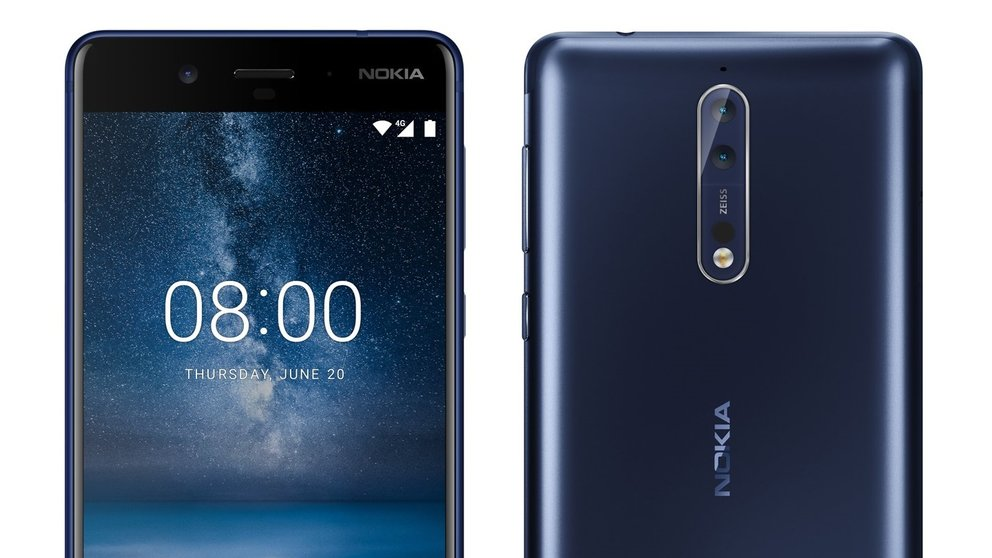Nokia 8 - High-End-Smartphone erscheint Mitte August