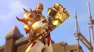 Overwatch: Doomfist mit einem Boxhandschuh gespielt