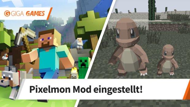 Minecraft: Die beliebte Pokémon-Mod wird eingestellt