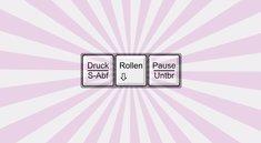 Rollen-Taste (Scroll-Lock): Wozu dient dieses Tastatur-Relikt?