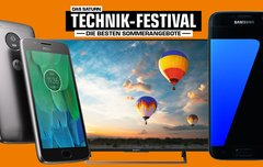 Saturn Technik-Festival: Galaxy S7, Beats X, Moto G5 zum Bestpreis – die Highlights im Überblick [Update]