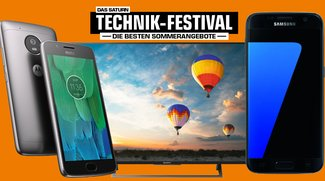 Saturn Technik-Festival: Galaxy S7, Beats X, Moto G5 zum Bestpreis – die Highlights im Überblick [Update]