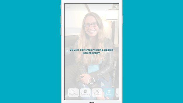 """Microsofts """"Seeing AI""""-App beschreibt blinden Nutzern ihre Umgebung"""