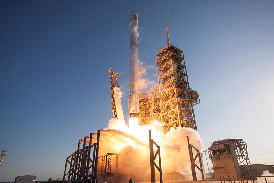 SpaceX,Weltraum,Rakete,Falcon9